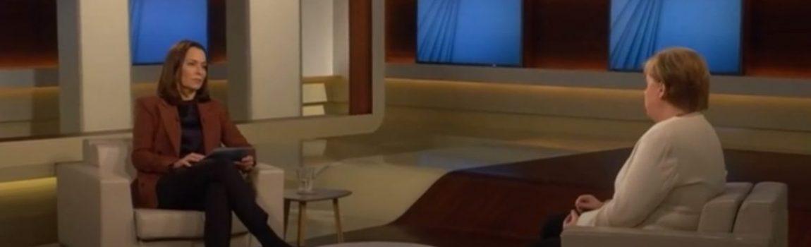 Wohnzimmergespräch mit Merkel